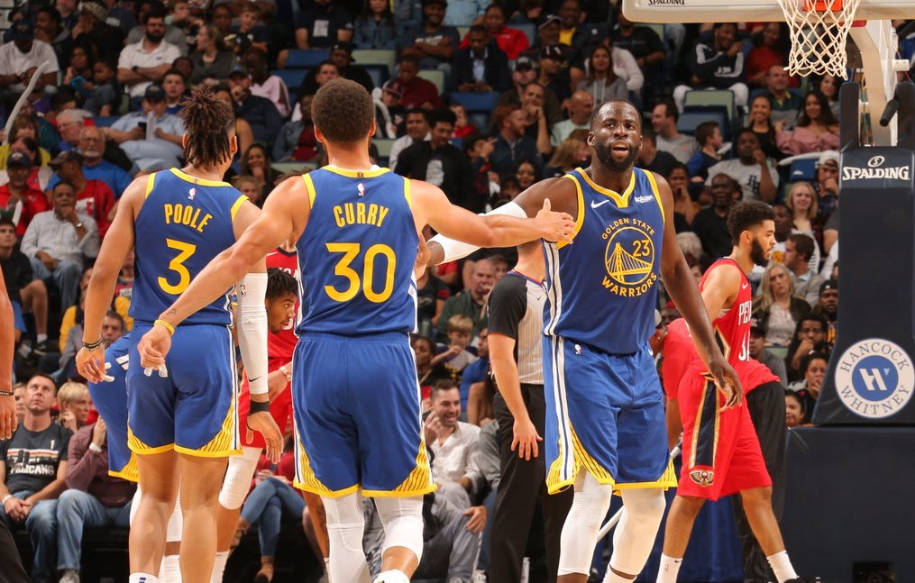Golden State Warriors clinch first win