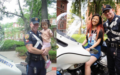 LOOK: Harvard University student recreates photo together with campus police officer from 15 years ago