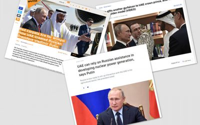 UAE gives new meaning to the word 'welcome': Russian media reacts to Putin's fond reception