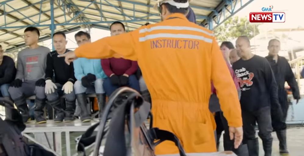Beyond TV glamor, real-life seafarers hurdle training programs