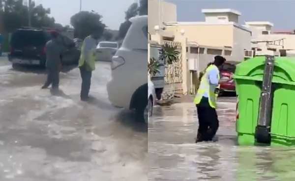 WATCH: Sharjah Police aids residents following Kalba flooding