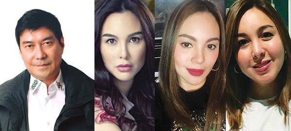 Tulfo invites Barretto sisters to TV show 'Wanted sa Radyo'