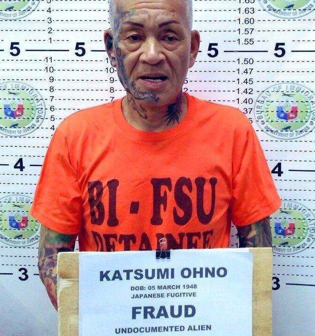 Immigration deports alleged Japanese Yakuza member