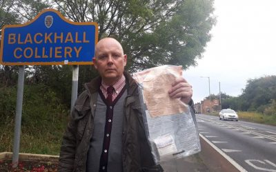 Authorities commend residents for reporting mysterious money parcels scattered around tiny UK village