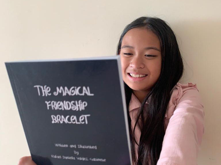 Filipina student in Dubai now an author at age of 9