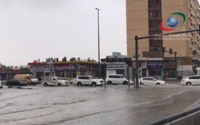 LOOK: Some UAE roads closed due to flooding