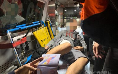 Taiwanese Coast Guard rescues Filipino engineer with severe burns