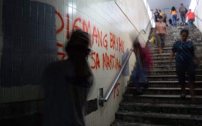 Group justifies vandals on Lagunilad walls