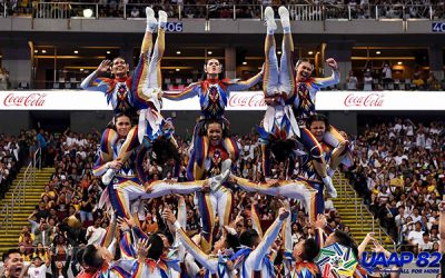 National University wins 'back-to-back' Cheerdance competition title at UAAP Season 82