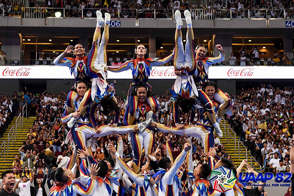 National University wins 'back-to-back' Cheedance competition title at UAAP Season 82