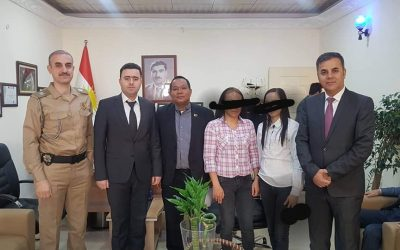 PH Embassy in Iraq repatriates two Filipina victims of molestation, illegal recruitment