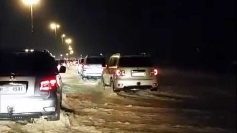 Rains in Ras Al Khaimah brought 1.71 million gallons of flood water