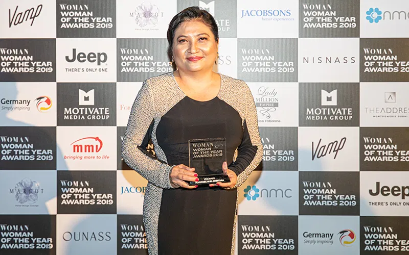 Ambassador Quintana bags Visionary title at Woman of the Year Awards 2019 in Dubai