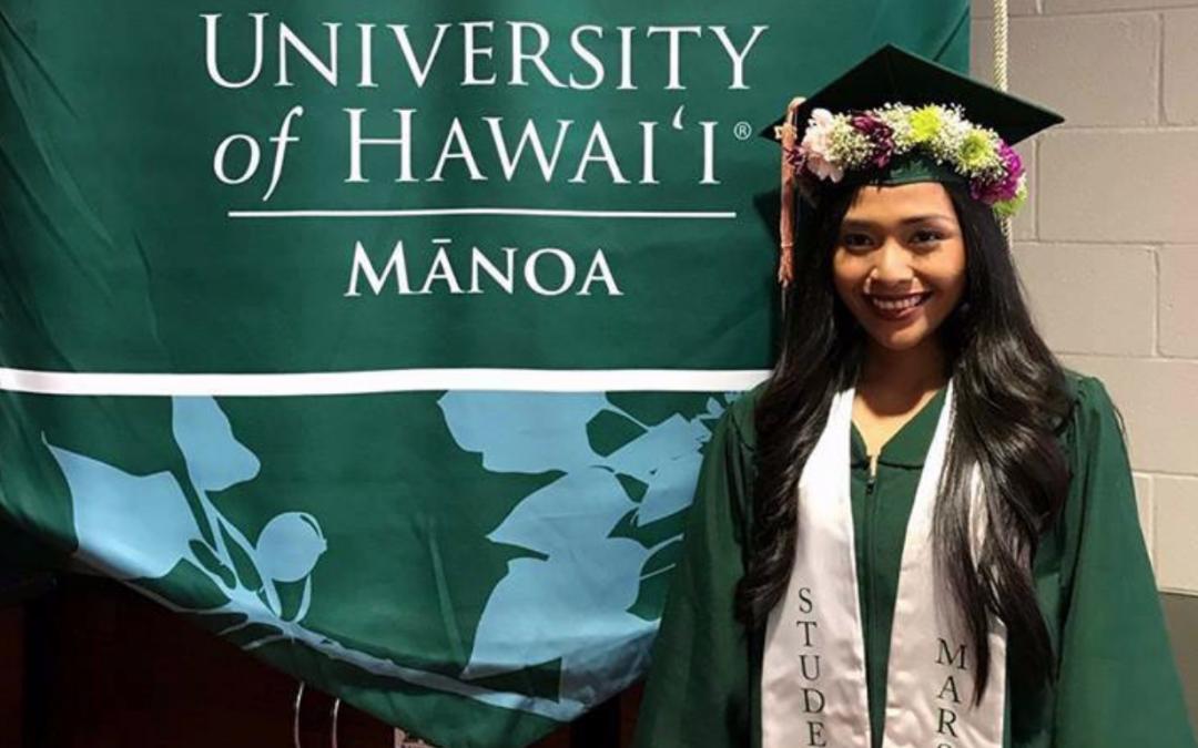Filipina graduates summa cum laude in Hawaii University