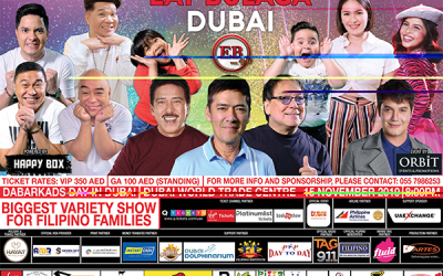 Exciting, fun-filled segments await UAE residents at Eat Bulaga Live in Dubai