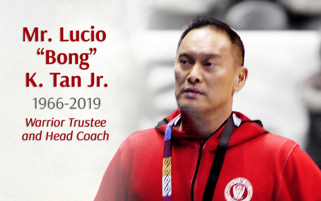 "Lucio ""Bong"" Tan, Jr. — a big loss in PH sports"