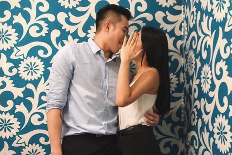 Blackwater Elite guard Paul Desiderio proposes to girlfriend