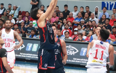 NCAA: Letran narrowly hands San Beda first loss in Game 1 of season finals