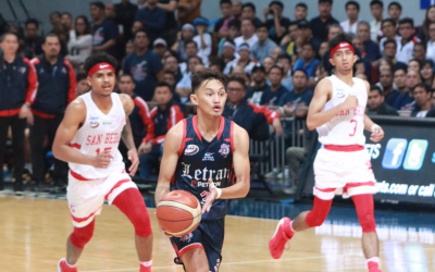 Letran Knights defeats Red Lions at NCAA Men's Basketball Finals