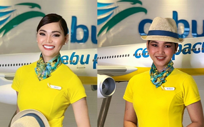 LOOK: Meet PH's first two transwomen cabin crew