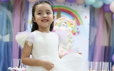 Zia Dantes celebrates birthday with 'unicorn-themed' party