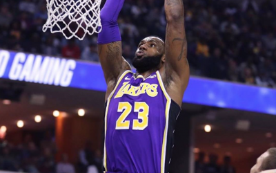 Lebron James leads Lakers to snatch 7th straight win