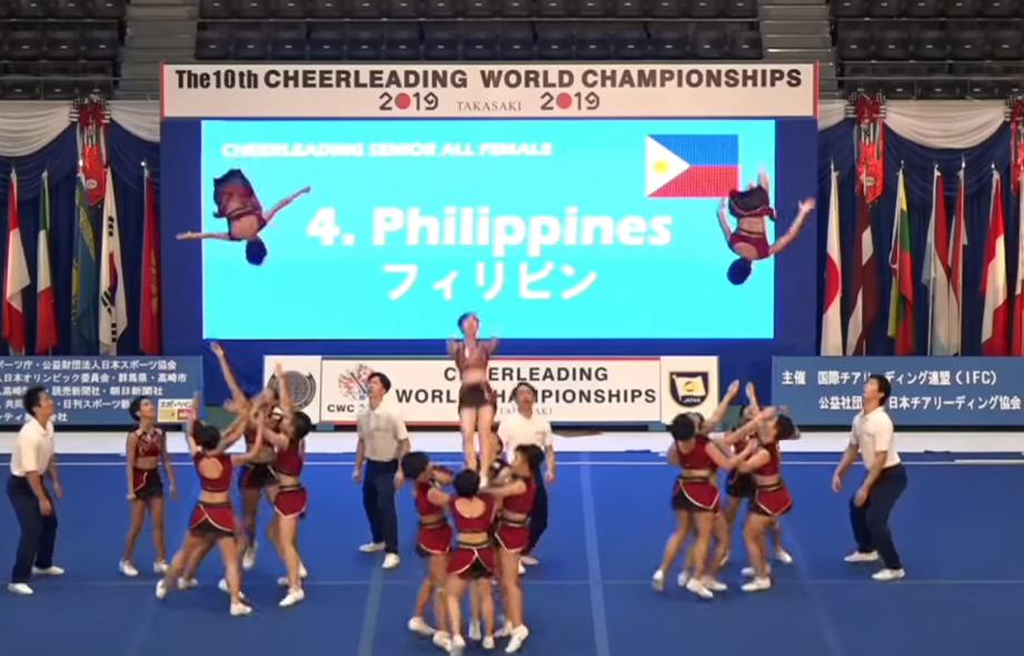 UP Pep Squad bags two medals in World Championships