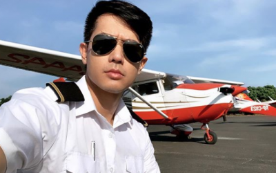 Singer Ronnie Liang fulfils childhood dream of becoming a pilot