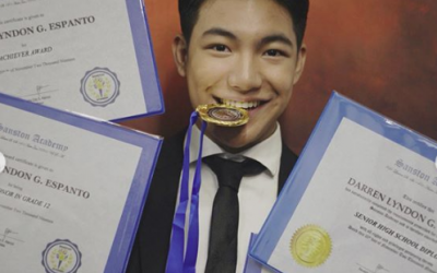 Darren Espanto finishes high school with honors