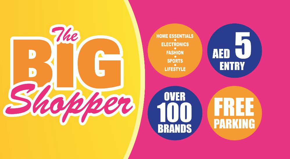 The Big Shopper in Sharjah to host huge discounts for over 100 brands this weekend