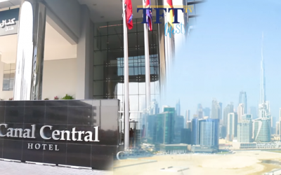Enjoy Dubai's blissful, magnificent views at Canal Central Hotel