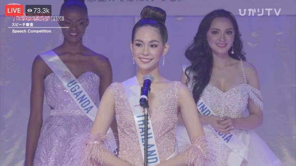 Miss Thailand wins Miss International 2019, PH bet Patch Magtanong lands in Top 8