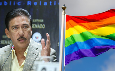Tito Sotto questions celebration of LGBT 'Pride Month' in schools