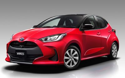 Toyota unveils remodeled Yaris to the world