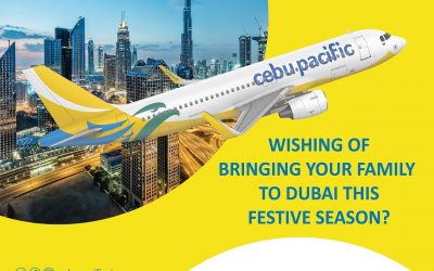 Get a chance to bring your family to Dubai this yuletide season with this treat by Cebu Pacific and Rove Hotels!