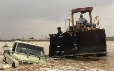 Al Ain underwater; 10 Emiratis rescued from flash floods
