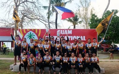 PH dragon boat team bags 6 gold medals in Guam