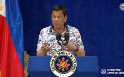 Duterte orders suspension of importation of rice