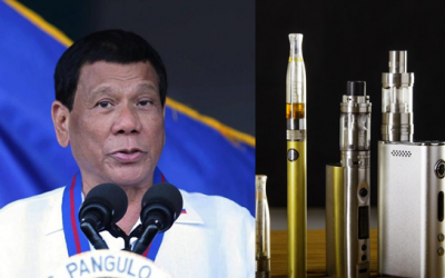 BREAKING: President Duterte says he will ban vaping