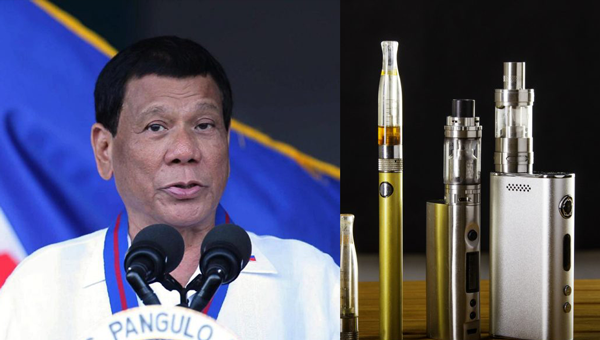 Go to encourage Duterte to regulate e-cigarettes