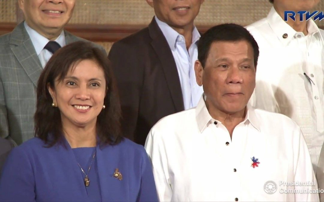 Duterte defends Robredo on COVID-19 efforts, fires PACC official