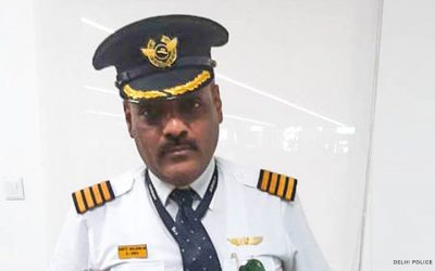 Man poses as pilot for perks, is arrested