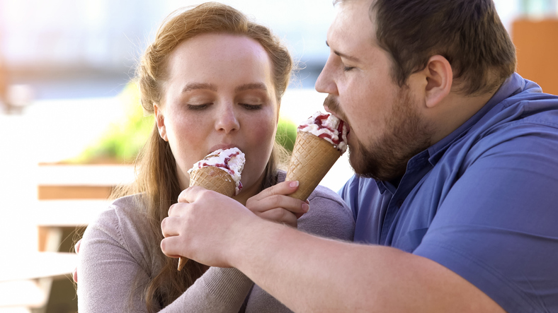 Married couples get fat because they are happy together — study