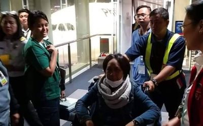 Pinay OFW from China returns home with kidney, heart disease