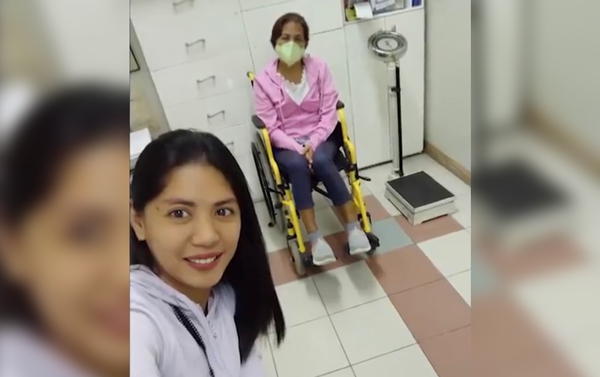Pinay OFW returns home to donate kidney to her ailing mother