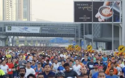 Thousands join Dubai Run 30X30 turns Sheikh Zayed road section into running track