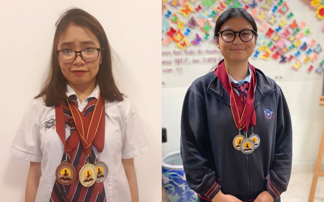 2 young Filipino students from UK-curriculum school in Dubai bring home heaps of medals from World Scholar's Cup in Yale University