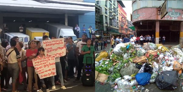 Divisoria vendors hold protest against Manila clearing ops