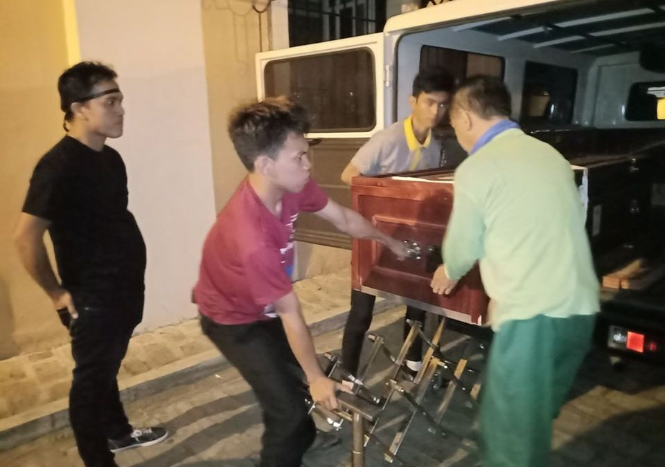 Remains of OFW who died in Saudi Arabia now home in Ilocos Sur