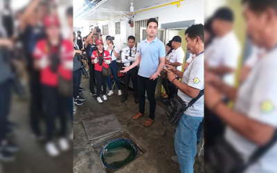 Mayor Vico Sotto sides with arrested workers in labor protest
